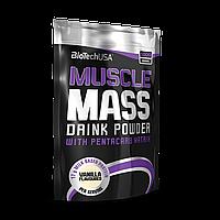 Гейнер BioTechUSA Muscle Mass, 1.0 kg
