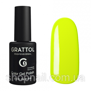 Grattol Gel Polish Lemon №036, 9ml