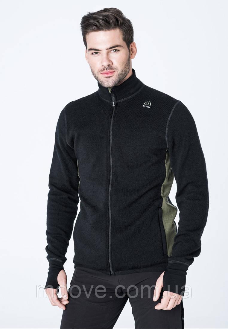 Aclima HotWool 400G Jacket Man XL black/olivenight