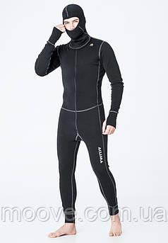 Aclima WarmWool Overall Man L black
