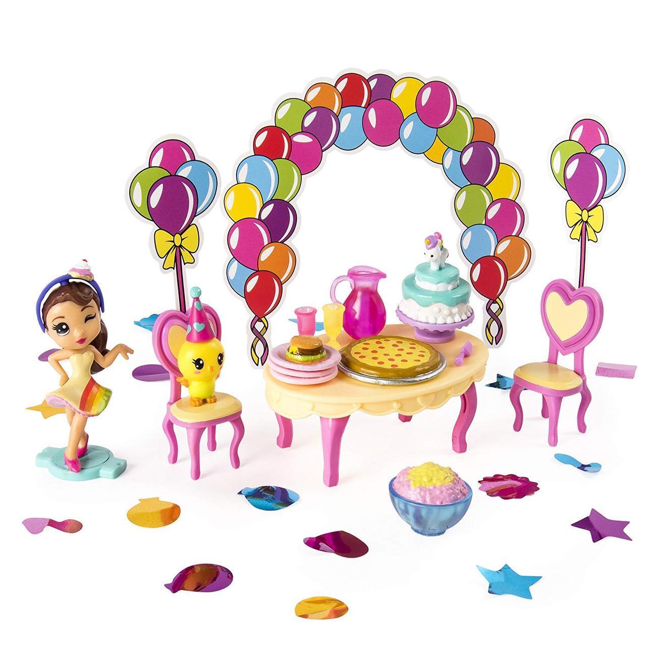 Игровой набор Party Popteenies подарок-сюрприз с куклой хлопушкой Ава, Spin Master из США