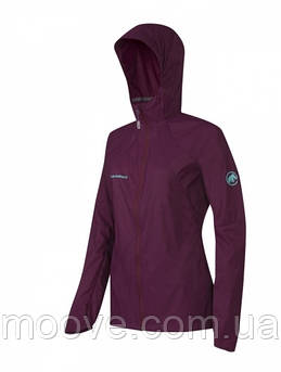 Mammut Runbold WB Hooded Jacket Women M Amarante