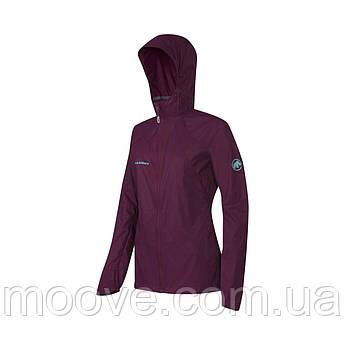 Mammut Runbold WB Hooded Jacket Women S Amarante