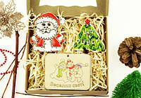 """Новогодний набор подарок """"Дед Мороз и елка"""""""