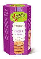 Печенье Гречнево-овсяное без сахара со стевией 300 г  STEVIASUN OST-228
