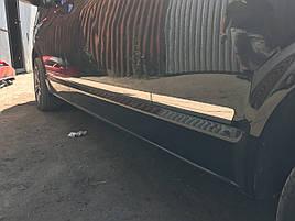 Молдинги на дверь ( нерж) - Volkswagen T6 2015+ гг.