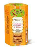 Печенье Миндально-кукурузное без сахара со стевией 300 г  STEVIASUN OST-229