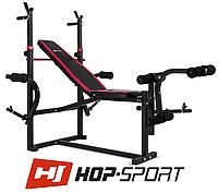 Скамья тренировочная Hop-Sport HS-1070  для дома и спортзала