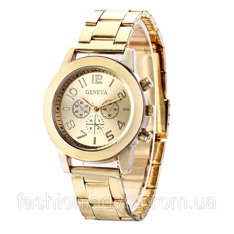 def649f2 Часы женские Geneva золотые: продажа, цена в Киеве. часы наручные и ...