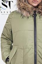 Зимнее пальто, батал, фото 3