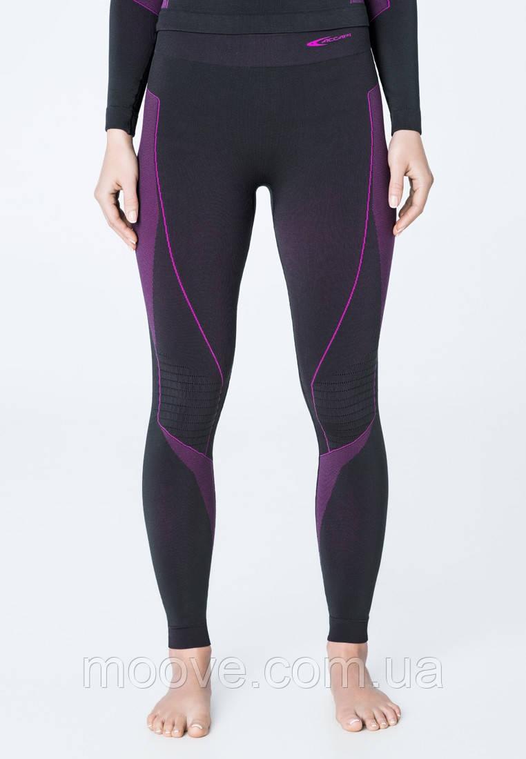 Accapi Polar Bear Long Trousers Woman XS/S black/cyclamen
