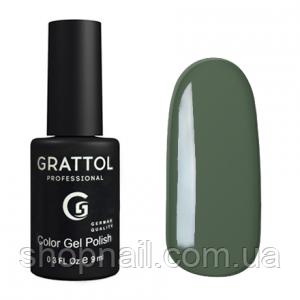 Grattol Gel Polish Green Gray №059, 9ml, фото 2