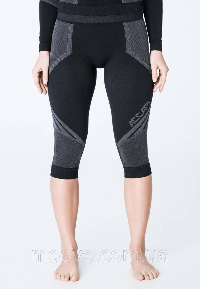 Бриджи жен. Accapi Propulsive 3/4 Trousers Woman 999 black M/L