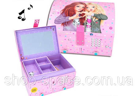 Шкатулка Top Model с кодом и музыкой, розовая