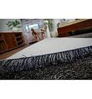 Ковер LOVE SHAGGY 60x110 см 93600 черный, фото 4