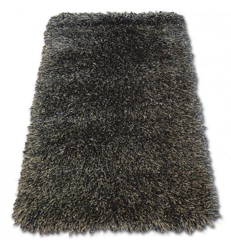 Ковер LOVE SHAGGY 80x150 см 93600 черный-коричневый