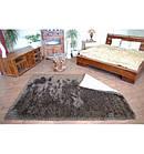 Ковер LOVE SHAGGY 80x150 см 93600 черный-коричневый, фото 2