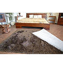 Ковер LOVE SHAGGY 80x150 см 93600 черный-коричневый, фото 3