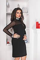 Платье нарядное с сеткой в расцветках 26023, фото 1