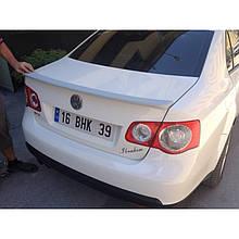 Спойлер (под покраску) - Volkswagen Jetta 2006-2011 гг.