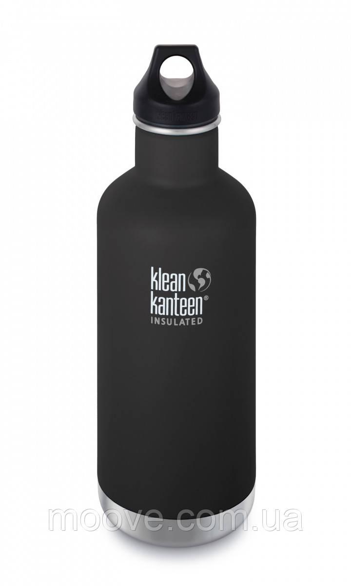 Klean Kanteen Classic Vacuum Insulated Shale Black (matt) 946 мл