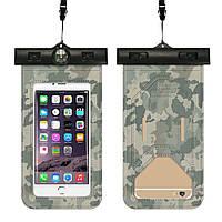 Чохол для смартфона підводний камуфляжний з компасом Tropics Camouflage, фото 1
