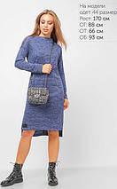 Женское платье из фактурной ангоры (3317 lp), фото 2