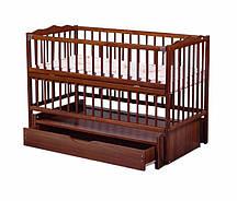 Кроватка детская Labona Мрия №4 Орех (20180927V-1287)