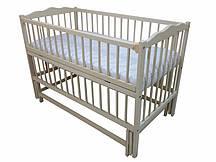 Кроватка детская Labona Мрия № 4 Бук Слоновая кость (20180927V-1278)