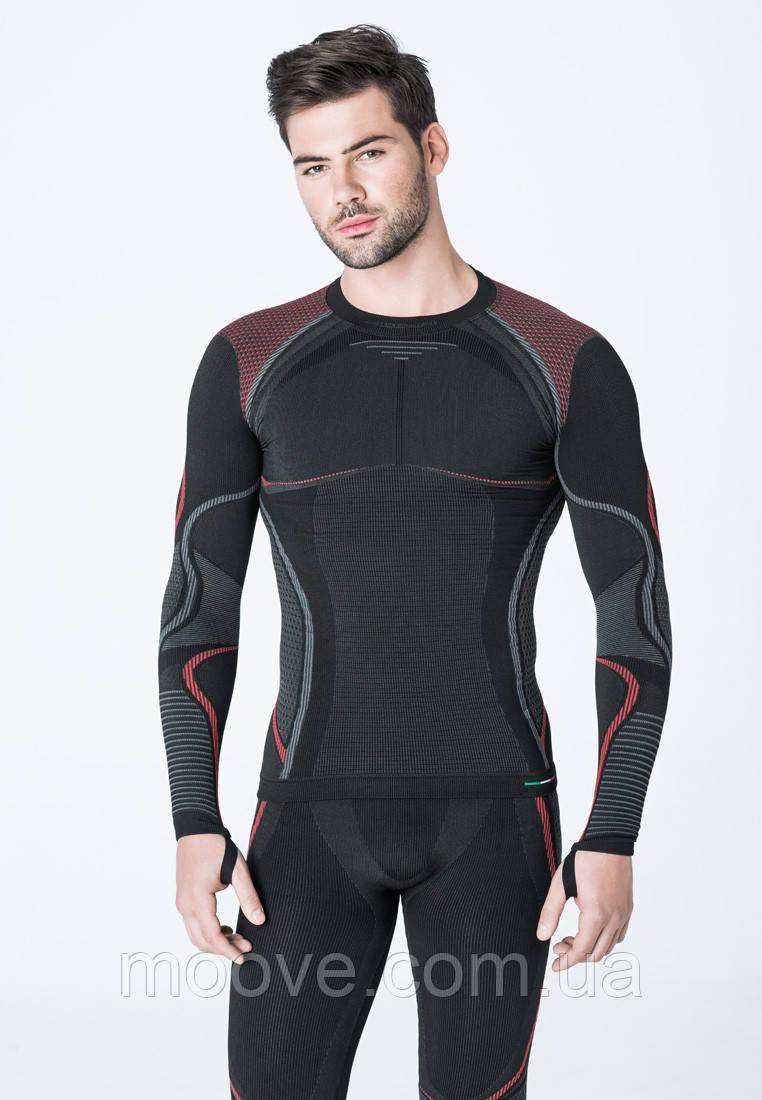 Термокофта муж. Accapi Ergoracing Long Sleeve Shirt Man 906 black/anthracite XS/S