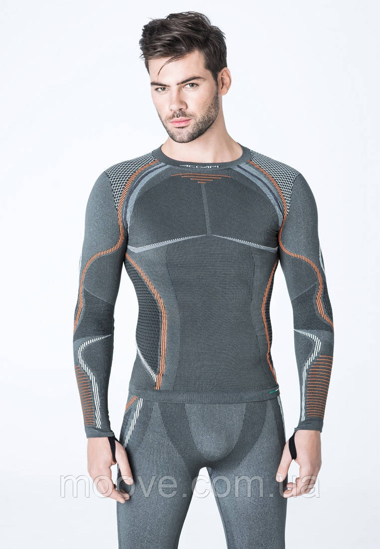 Accapi Ergoracing Long Sleeve Shirt Man XS/S anthracite