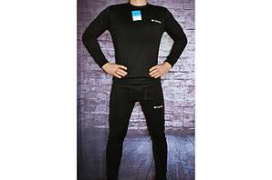 Термобелье коламбия черное премиум комфорт комплект Thermal Underwear Columbia Black