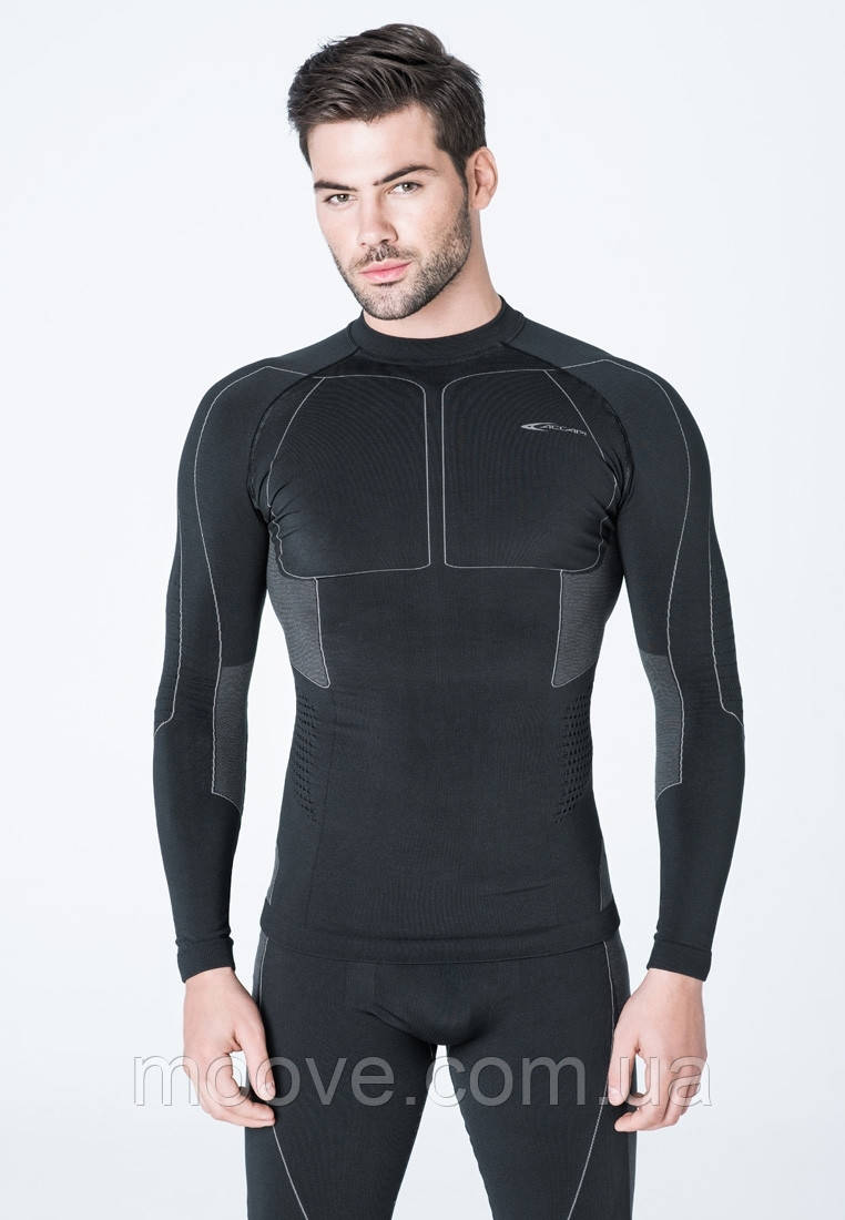 Accapi Polar Bear Long Sleeve Shirt Man M/L anthracite