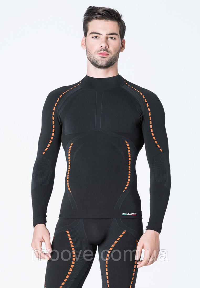 Термокофта муж. Accapi X-Country Long Sleeve Shirt High Neck Man 999 black M/L