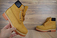 Мужские зимние ботинки 40, 41 размер Timberland Classic Boot рыжие Реплика