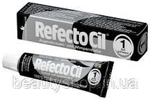 Refectocil Краска для бровей и ресниц 15мл, черная, иссиня-черная, коричневая, графит № 1 Черная