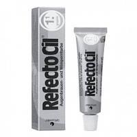 Refectocil Краска для бровей и ресниц 15мл, черная, иссиня-черная, коричневая, графит № 1.1 Графит (темно-серая)