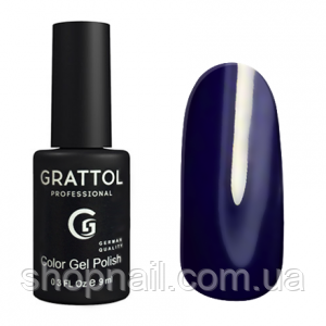 Grattol Gel Polish Dark Ultramarine №095, 9ml, фото 2