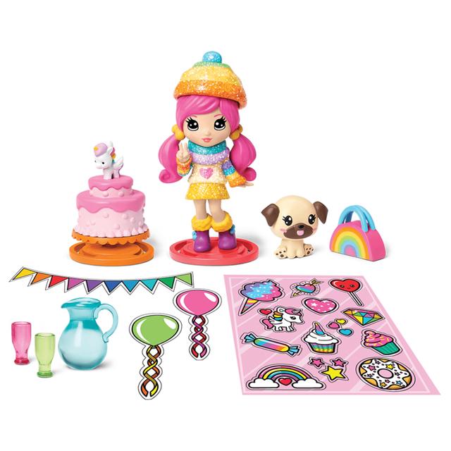 Игровой набор Party Popteenies Двойная хлопушка-сюрприз, Spin Master