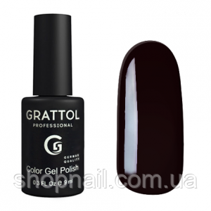 Grattol Gel Polish Rouge Noir №097, 9ml, фото 2