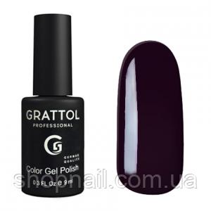 Grattol Gel Polish Dark Eggplant №098, 9ml, фото 2