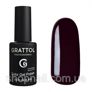 Grattol Gel Polish Merlot №100, 9ml, фото 2