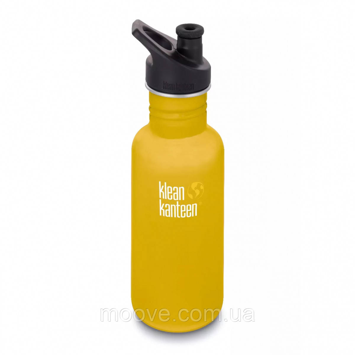 Klean Kanteen Classic Sport Cap Lemon Curry Matt 532 мл