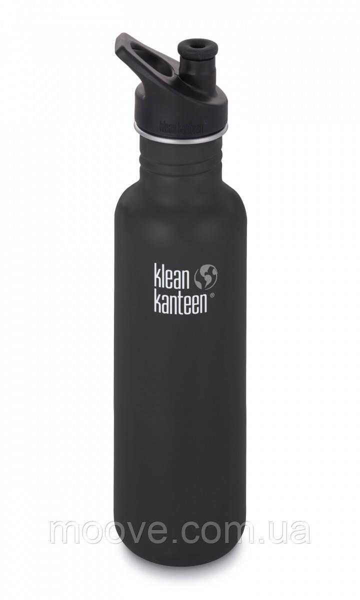 Klean Kanteen Classic Sport Cap Shale Black (matt) 800 мл
