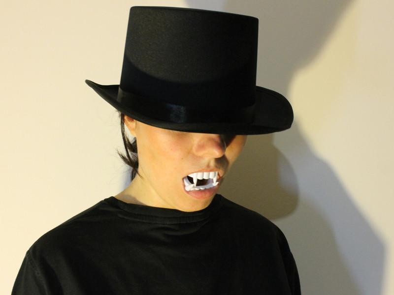 Шляпа Цилиндр стимпанк, фото 1