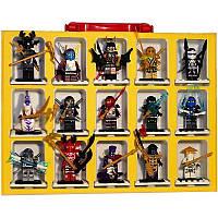 Конструктор Lele 79060 Ninjago Ниндзяго Ninja Ниндзя 15 героев в чемодане, кейсе, фото 1