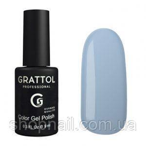 Grattol Gel Polish Pale Cornflower №118, 9ml