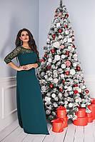 Платье нарядное длинное  в расцветках 26032, фото 1