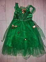 Детский карнавальный костюм Елочка на девочку