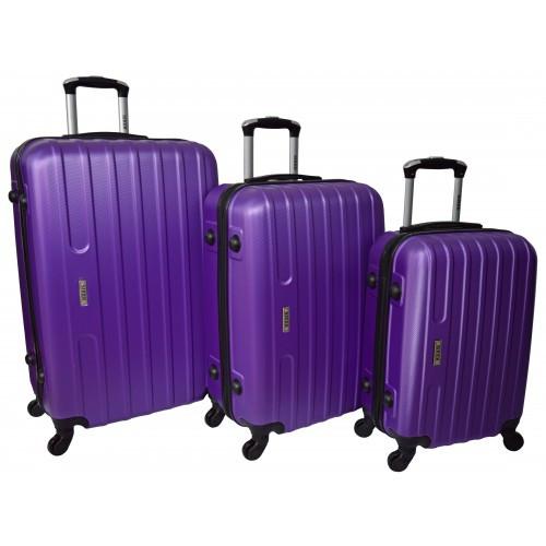 Набор дорожных чемоданов Line 3 штуки. Разные цвета.